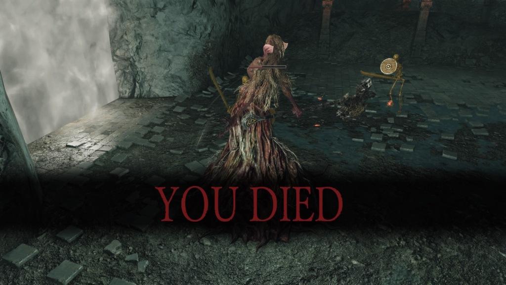 I died again in DSII