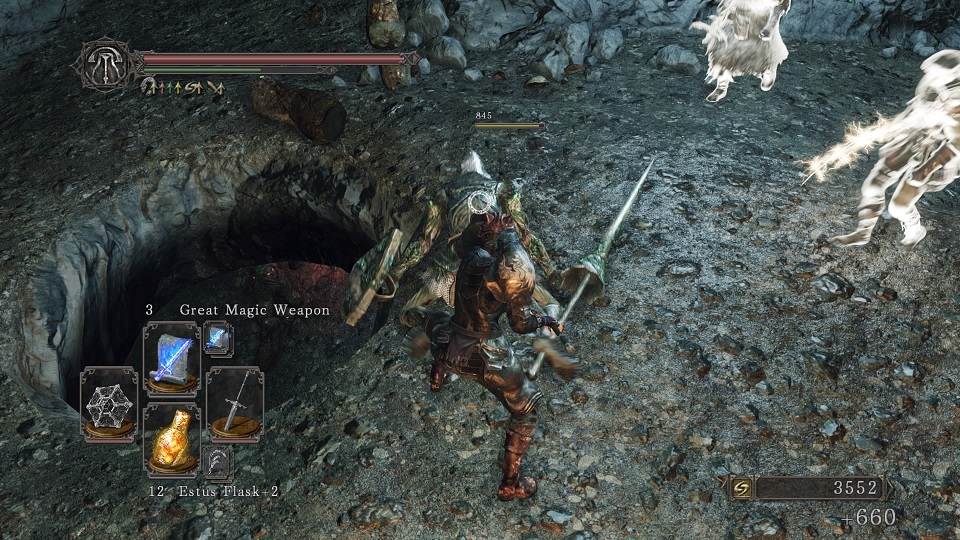 Trying to get to the Cave of the Dead Bosses Fight